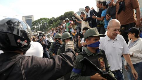 Venezuela, Juan Guaidó, Leopoldo López, golpe de estado