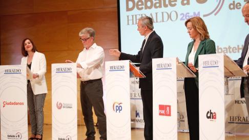 Debate a la alcaldía del Ayuntamiento de Zaragoza.
