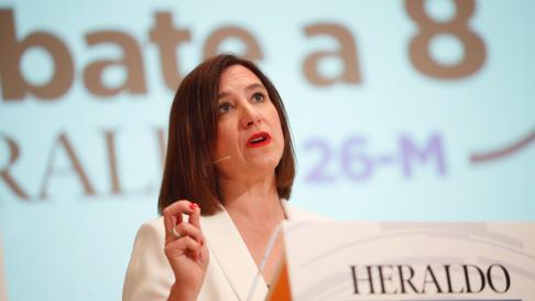 Sara Fernández, candidata de Ciudadanos al Ayuntamiento de Zaragoza.