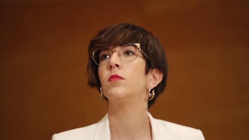 Violeta Barba, candidata de Podemos-Equo al Ayuntamiento de Zaragoza.
