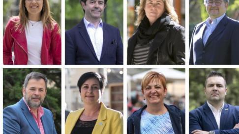 Candidatos a la alcaldía de Huesca.