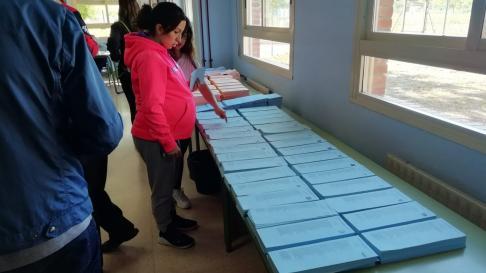 Colegio electoral Francisco Goya de Calatayud.