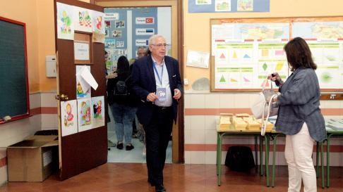 El presidente de Melilla.