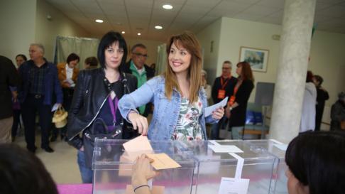 Maru Díaz ha votado en Tarazona.