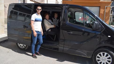 Servicio de taxi electoral gratuito del Ayuntamiento de Graus.