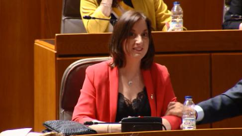 María del Mar Rodrigo Pla (PSOE), vicepresidencia Cortes de Aragón