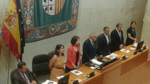Así ha quedado constituida la mesa de las Cortes de Aragón tras las votaciones