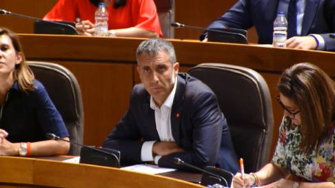Ramiro Domínguez (Cs), candidato vicepresidencia Cortes de Aragón