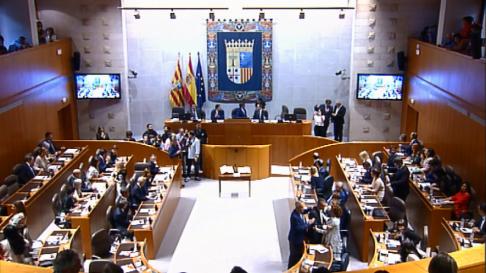 Sesión constitutiva de las Cortes de Aragón en la X legislatura
