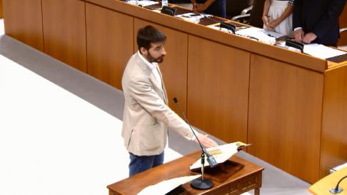 Constitución de las Cortes de Aragón en la X legislatura