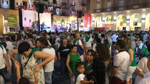Fiestas De San Lorenzo 2019 Huesca Vive Su Dia Grande Con La
