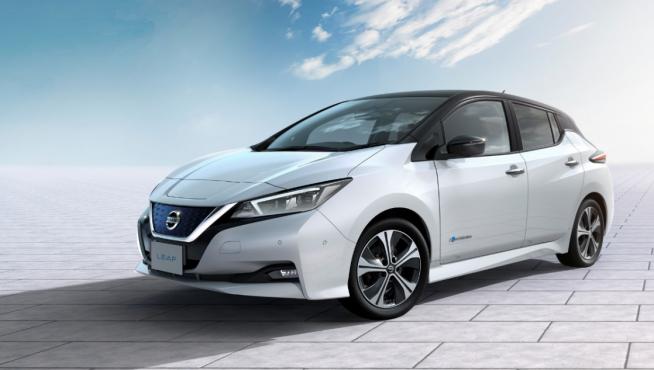 Nuevo modelo Nissan Leaf.