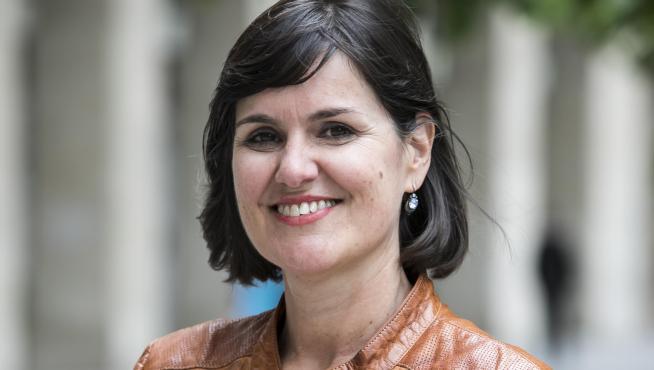 Elena Allué, candidata del PAR a la alcaldía de Zaragoza
