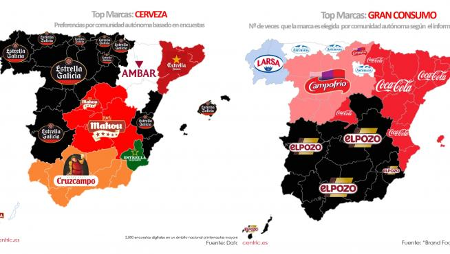Mapa marcas Datacentric