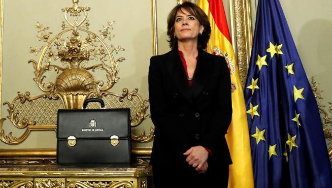 Dolores Delgado, ya exministra de Justicia y próxima Fiscal General del Estado.