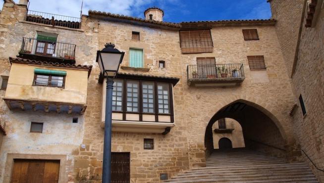 Calaceite, uno de los pueblos más bonitos de España.