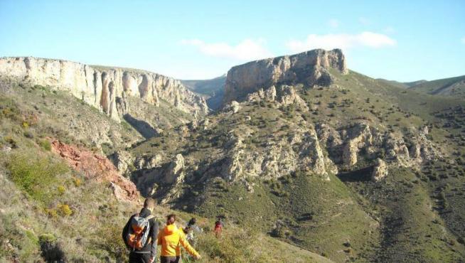 Los montes de Calcena, en el Parque Natural del Moncayo.