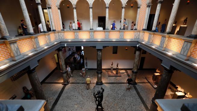 Visión general del Museo Pablo Gargallo, quizá el más querido por los artistas.