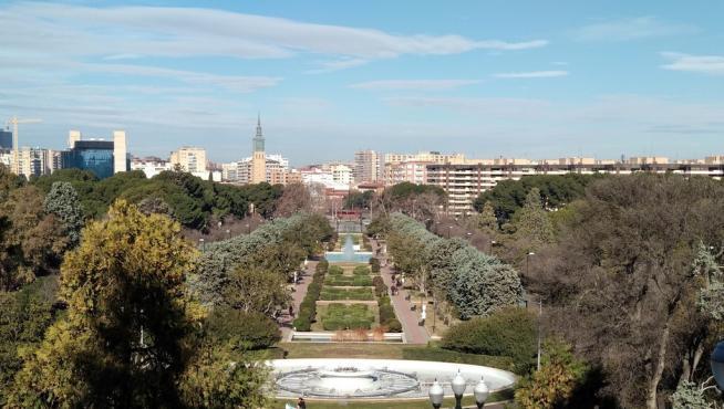 El parque Grande José Antonio Labordeta