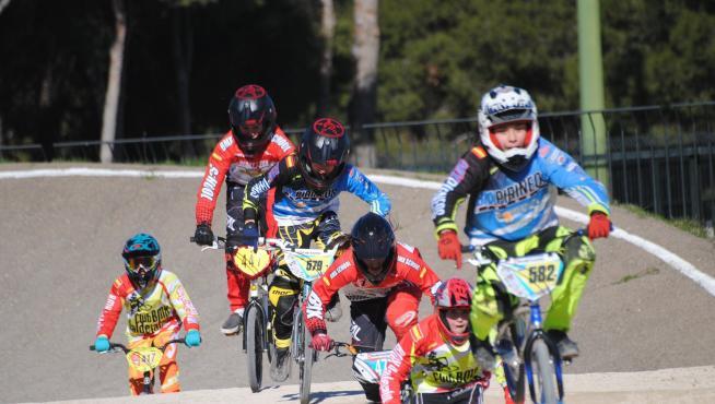 El CDM David Cañada acogió el pasado domingo la primera prueba de la Liga BMX Pirineos