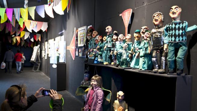 INSTALACIONES DEL TEATRO ARBOLE EN ZARAGOZA/ FOTO: QUICO GIMENO