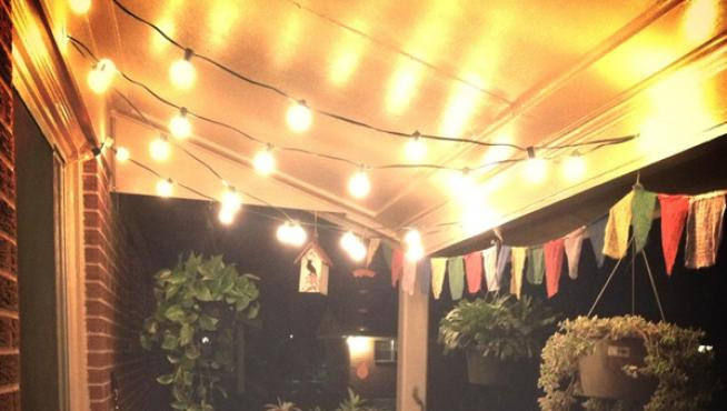 Luces en el techo para veladas luminosas