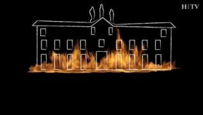 Cuando el fuego quemó la comedia de Zaragoza