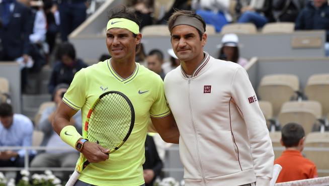 Nadal-Federer, en Roland Garros.