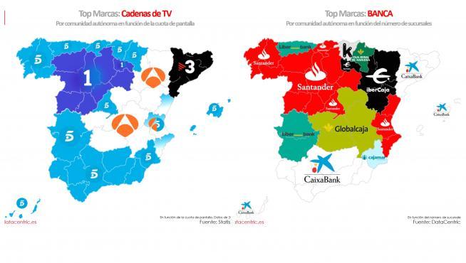 Mapa preferencias marcas de Datacentric