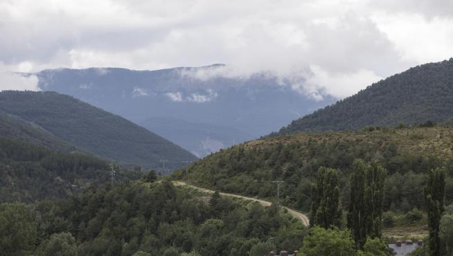 Vista desde la parte alta de Castiello de Jaca.