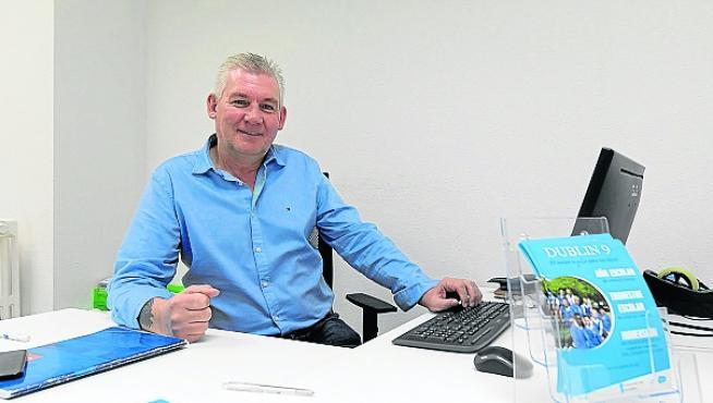 Paul McKinney, de la empresa dublin9 en la antigua Audiencia Preovincial/ 19-12-19 / Foto Rafael Gobantes [[[FOTOGRAFOS]]]