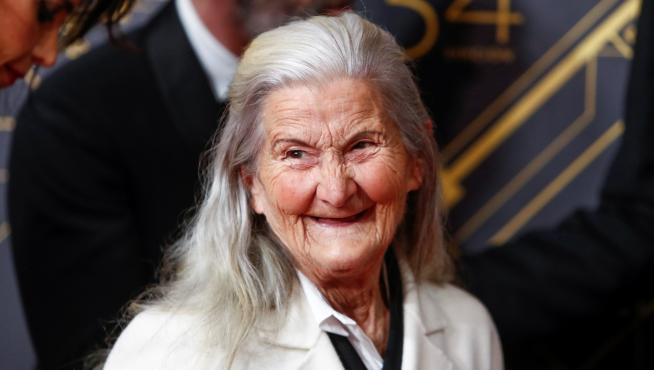 Benedicta Sánchez, premio Goya a la actriz revelación.