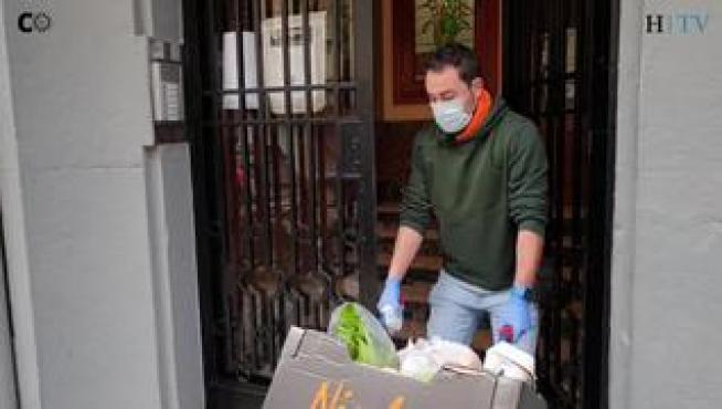 """Carlos Vidal: """"Llevamos pedidos a domicilio y muchas veces ni vemos al cliente"""""""