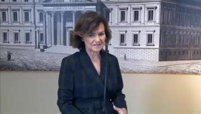 La vicepresidenta se encuentra ingresada en la Clínica Ruber de Madrid