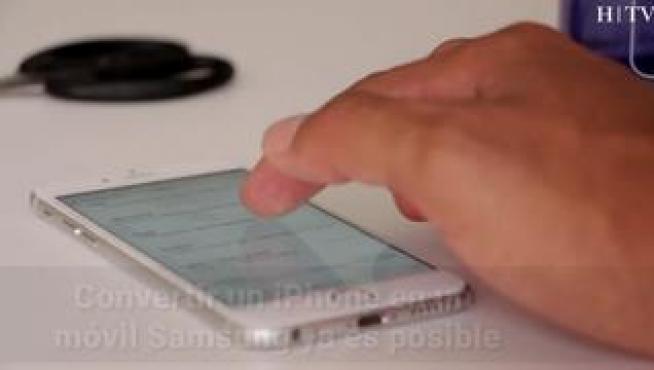 Convertir un iPhone en un móvil Samsung ya es posible gracias a una aplicación
