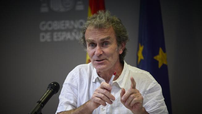 Fernando Simón, este lunes