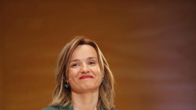 Pilar Alegria, ministra de Educación.