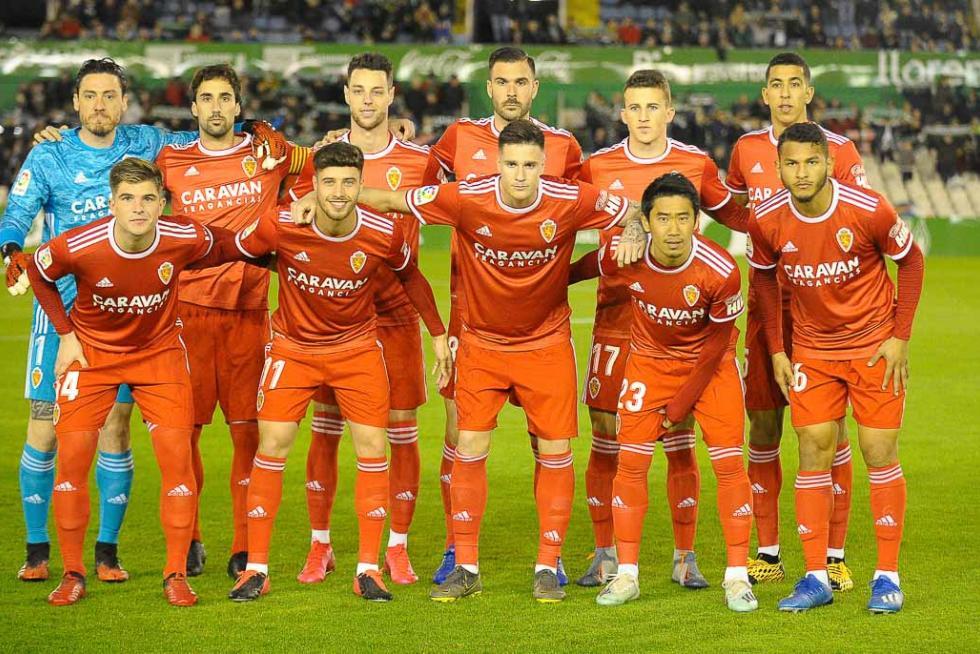 Racing - Real Zaragoza / 29-02-2020 / Foto: Alberto Losa / LOF