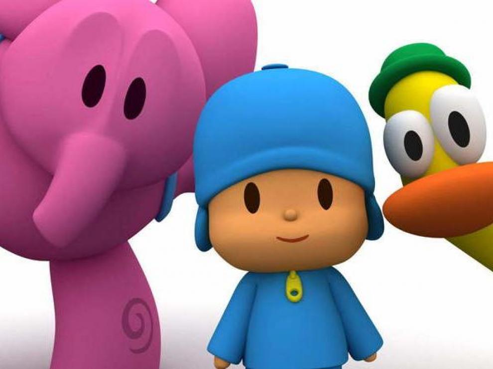 Algunos personajes de la serie.