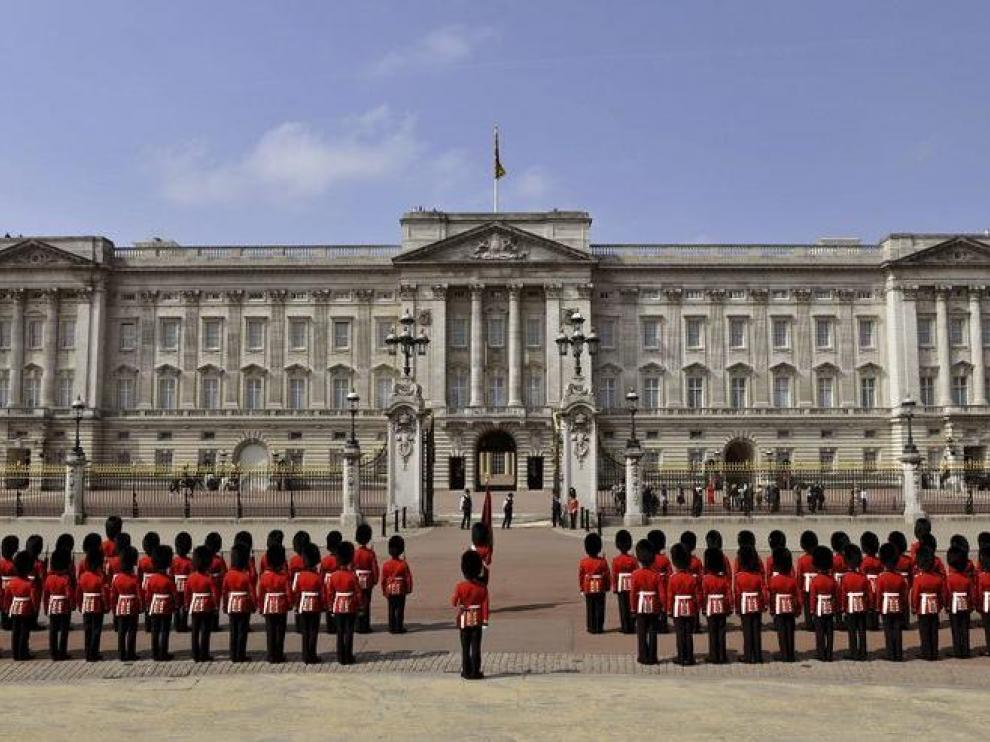 El palacio de Buckingham