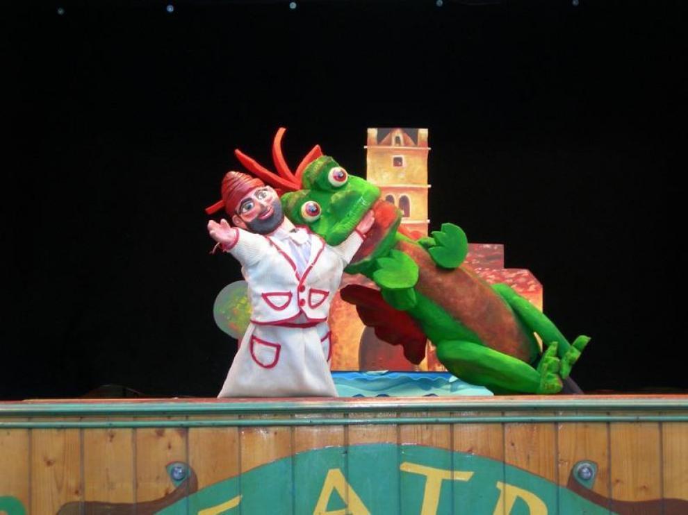 Se representará el espectáculo 'Títeres de cachiporra', a cargo de Teatro Arbolé.