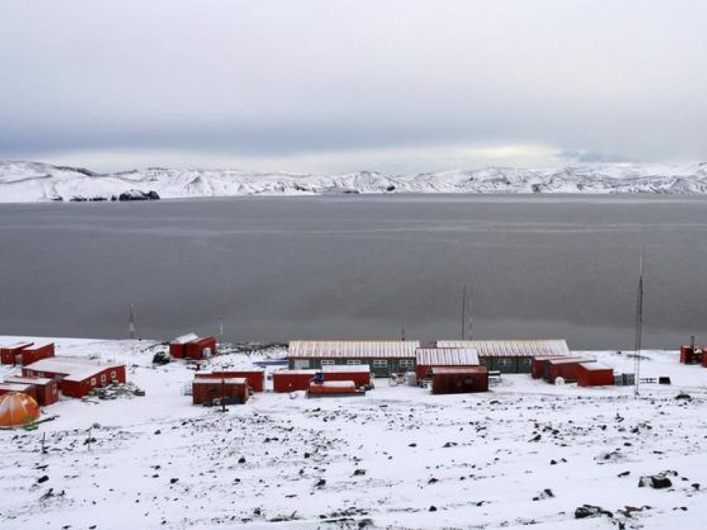 La base Gabriel de Castilla, en isla Decepción