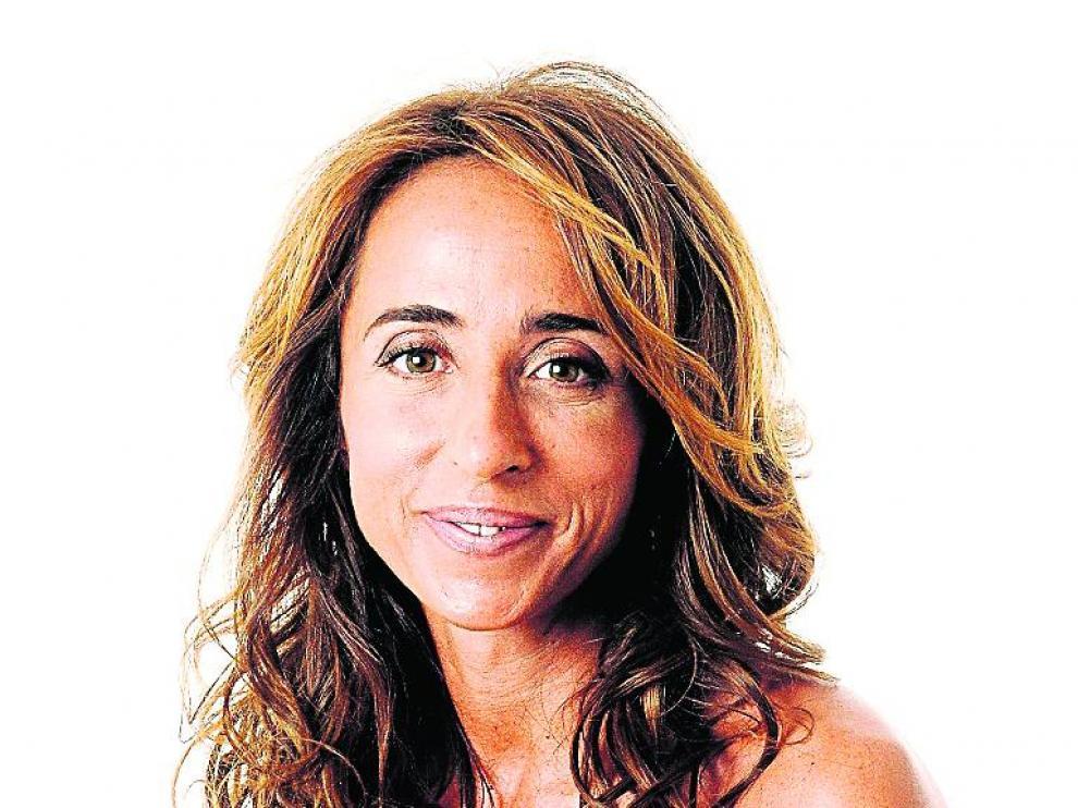 María Patiño confiesa que es una maniática de su pelo.