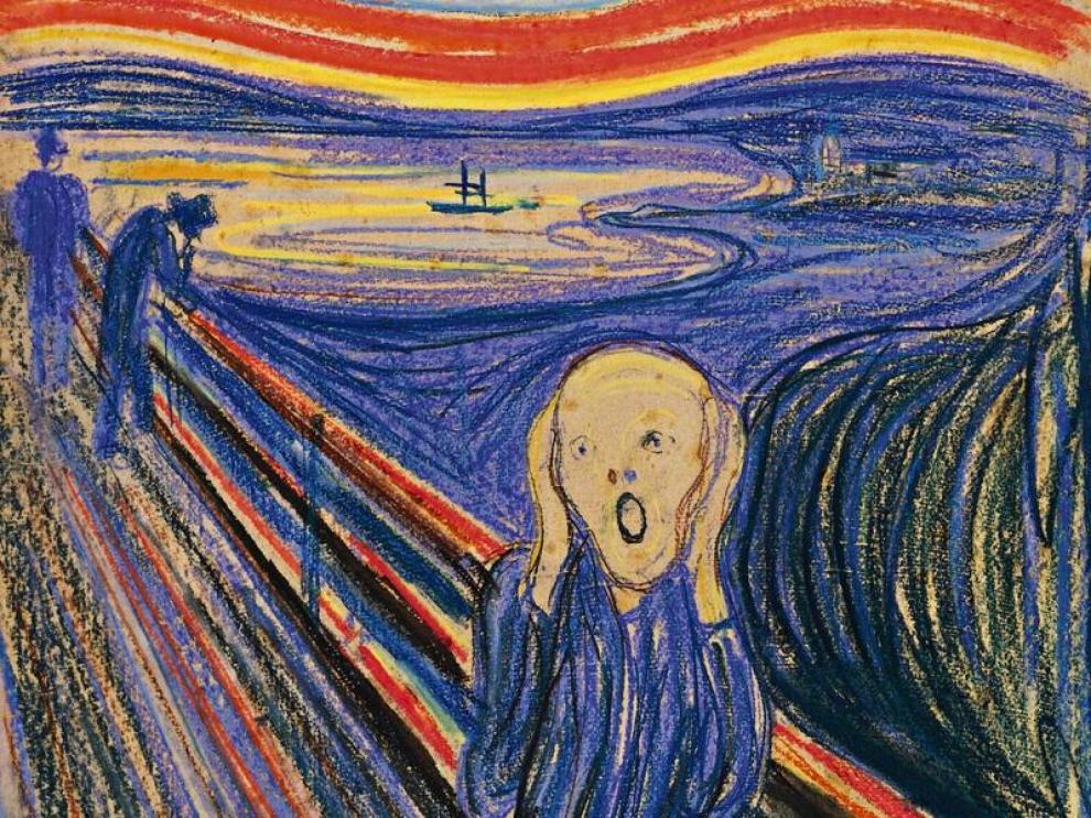 'El Grito' de Edvard Munch