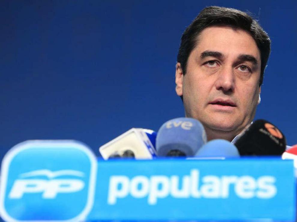 José Ignacio Echániz, responsable de Sanidad y Servicios Sociales del PP