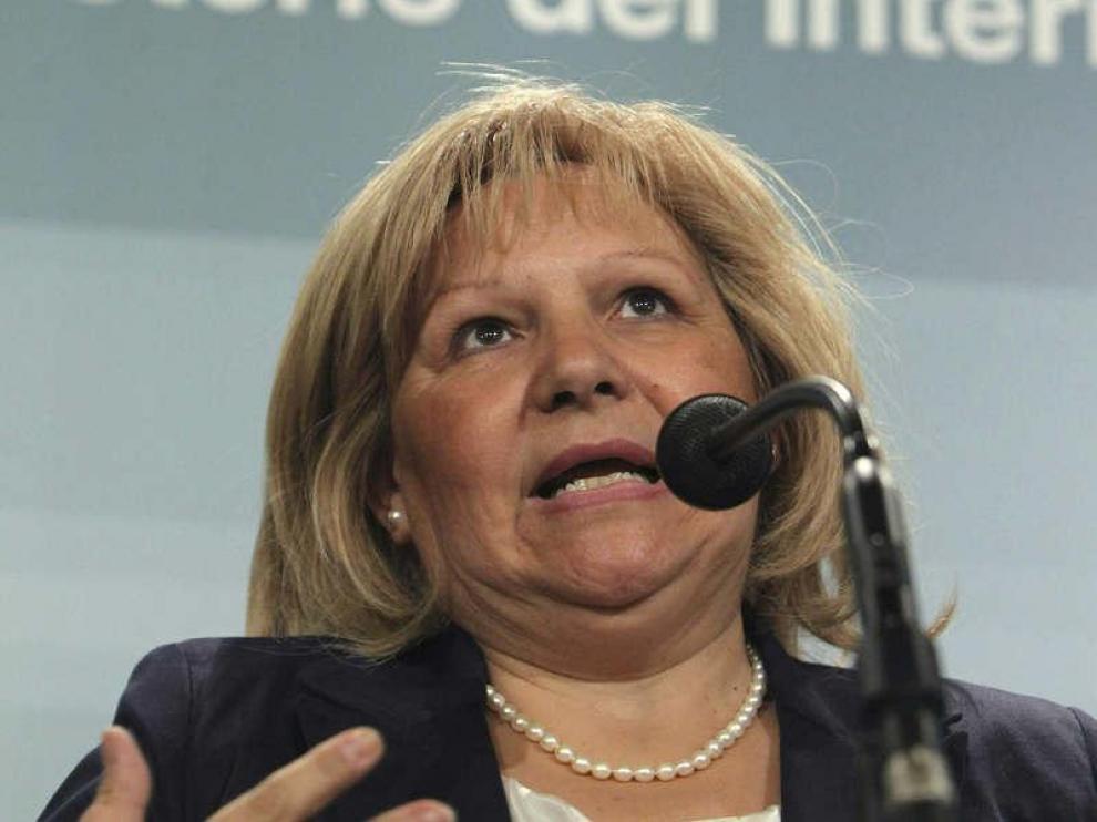 La presidenta de la Asociación de Víctimas del Terrorismo, Ángeles Pedraza
