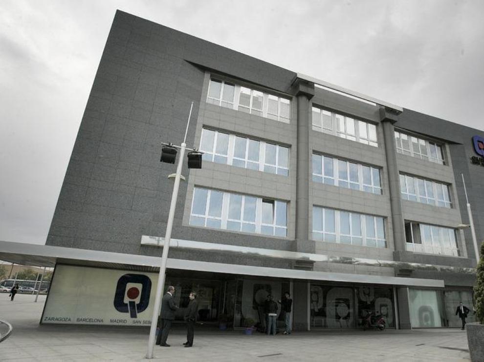 Un hospital privado, en Zaragoza.