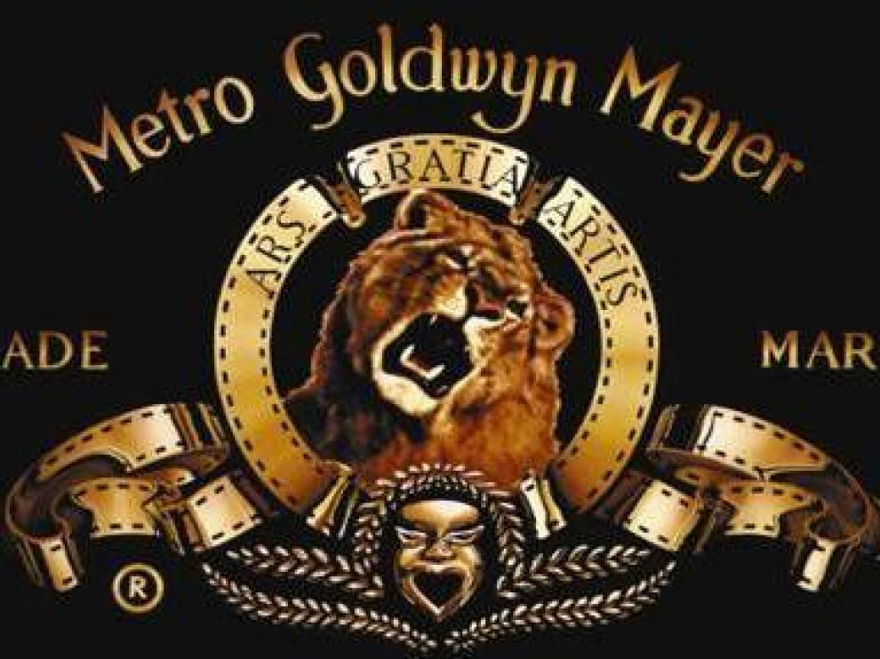 La famosa cabecera del león de la Metro