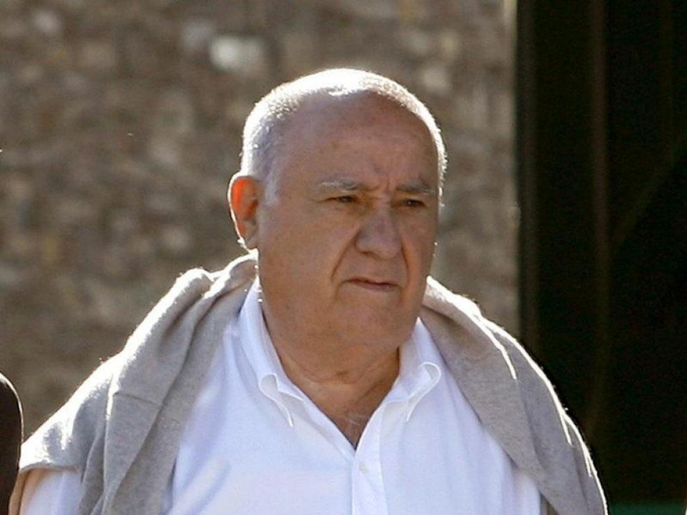 El empresario, Amancio Ortega.