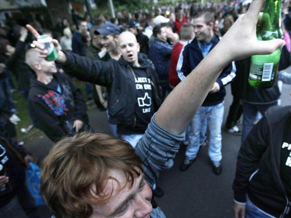 Alrededor de 4.000 jóvenes acudieron a la fiesta